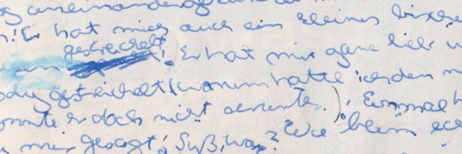 Unsere Tagebuchseite im Deutschen Hygiene-Museum