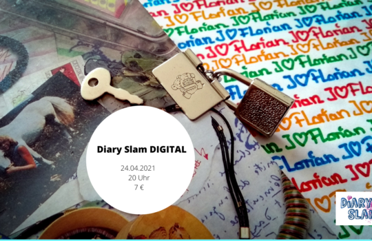 Diary Slam DIGITAL am 24.04.2021