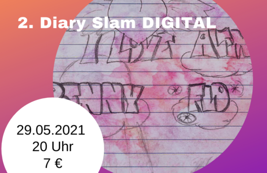 2. Diary Slam DIGITAL