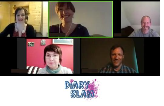 Schön war´s, der 2. digitale Diary Slam
